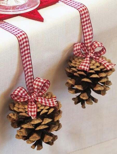 pinecone christmas decorations 3