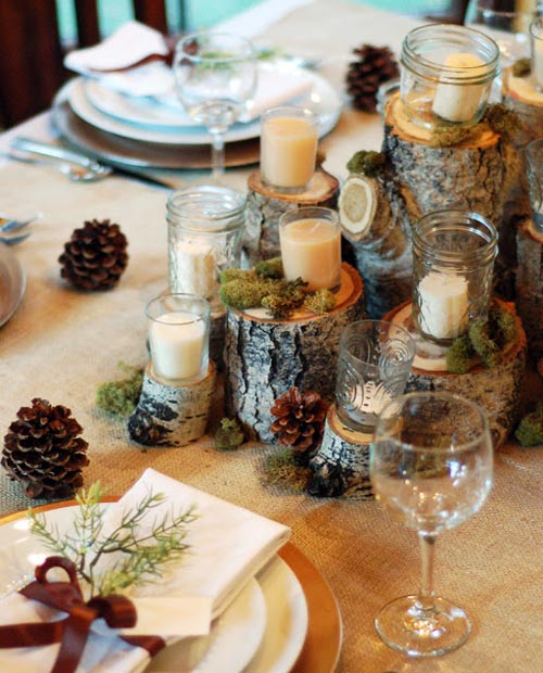 rustic christmas decorations 1