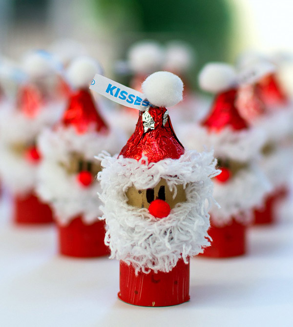 33 easy to make santa christmas crafts all about christmas
