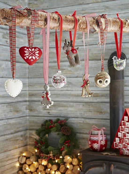 37 cozy scandinavian christmas decorations ideas all for Deco table de noel fait maison