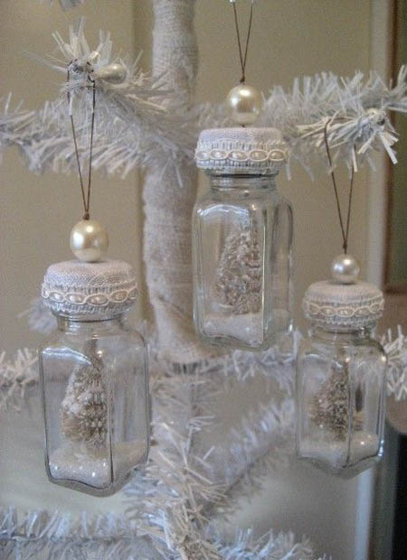 shabby chic christmas decorations 10 - Chic Christmas Decorations