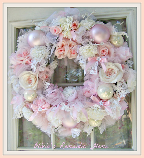 shabby chic christmas decorations 15