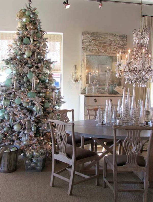 shabby chic christmas decorations 19