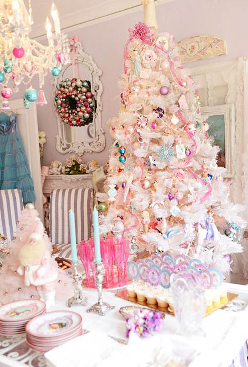 Shabby Chic Christmas Decorating Ideas