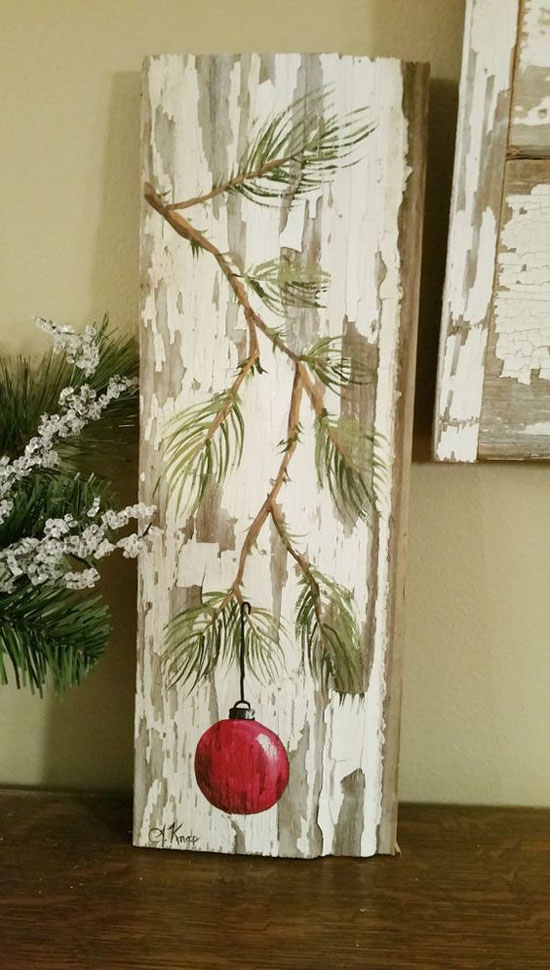30+ Breathtaking Shabby Chic Christmas Decorating Ideas ...