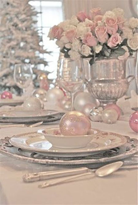 shabby chic christmas decorations 30