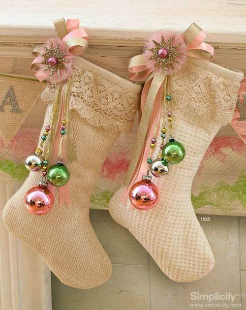 shabby-chic-christmas-decorations-4