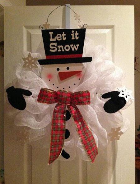 how to make a snowman christmas lantern