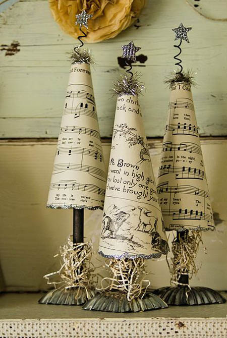 vintage christmas decorating ideas 12