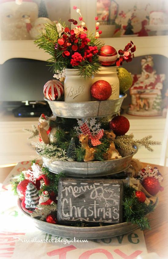 35 glamorous vintage christmas decorating ideas all for All christmas decorations