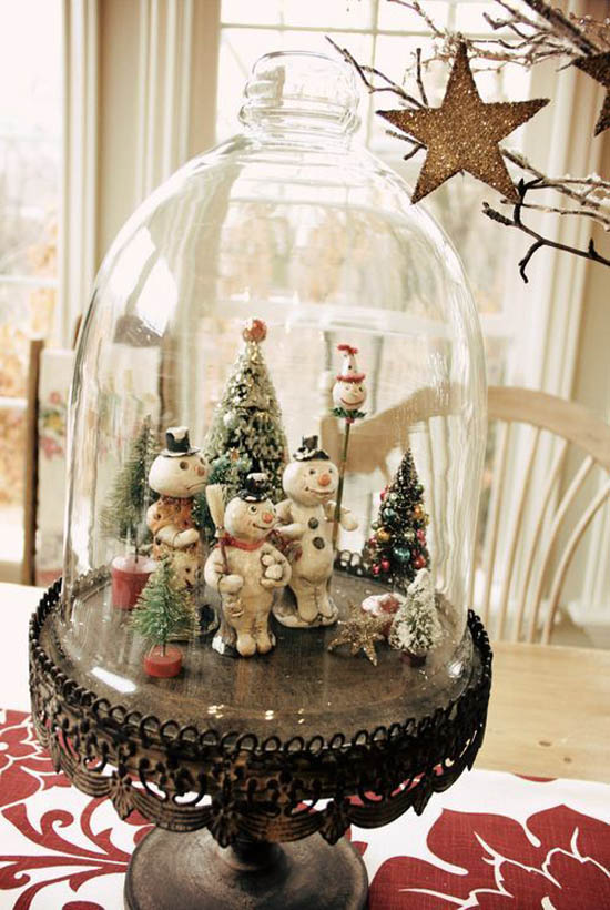 35 Glamorous Vintage Christmas Decorating Ideas - All About Christmas