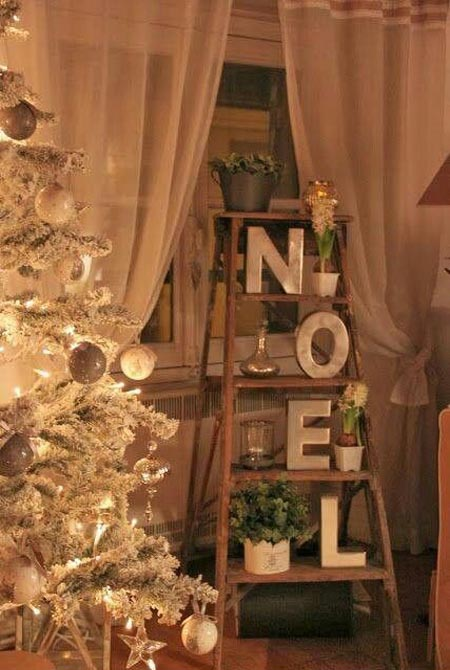 Vintage Christmas Decorating Ideas 4