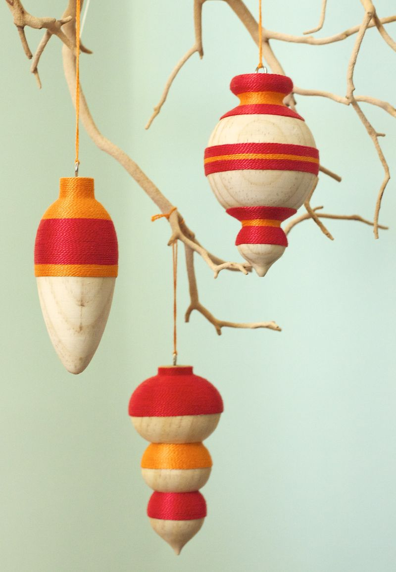 Wooden christmas decorations all about