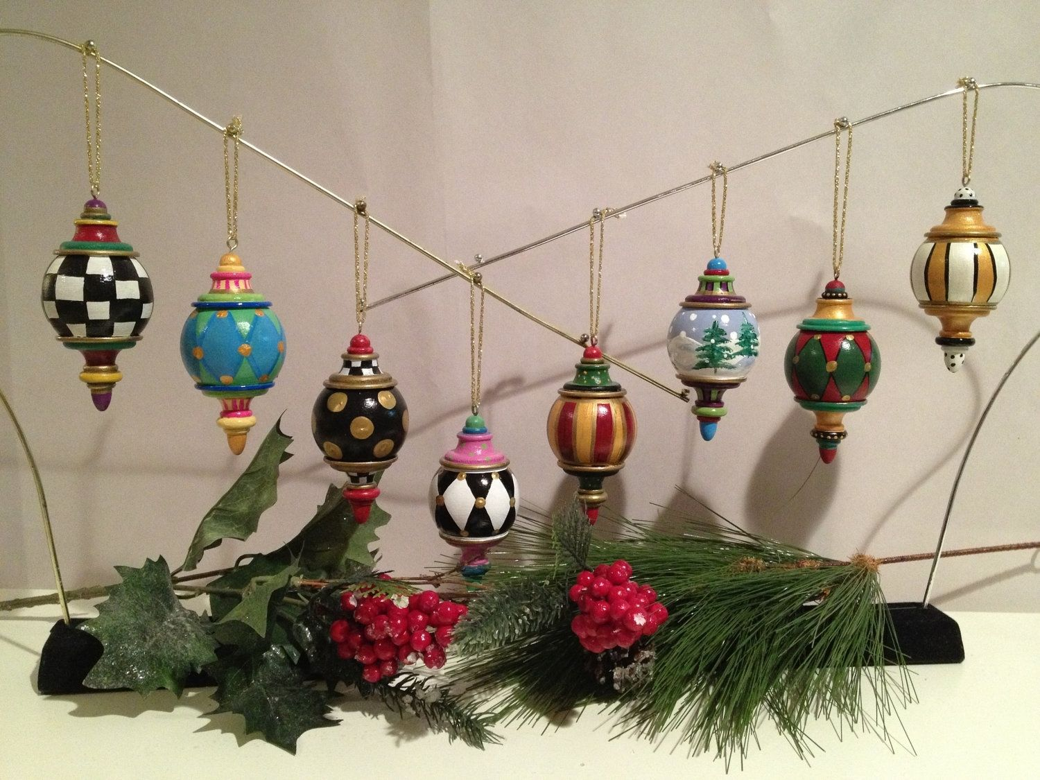 40 Wooden Christmas Decorations