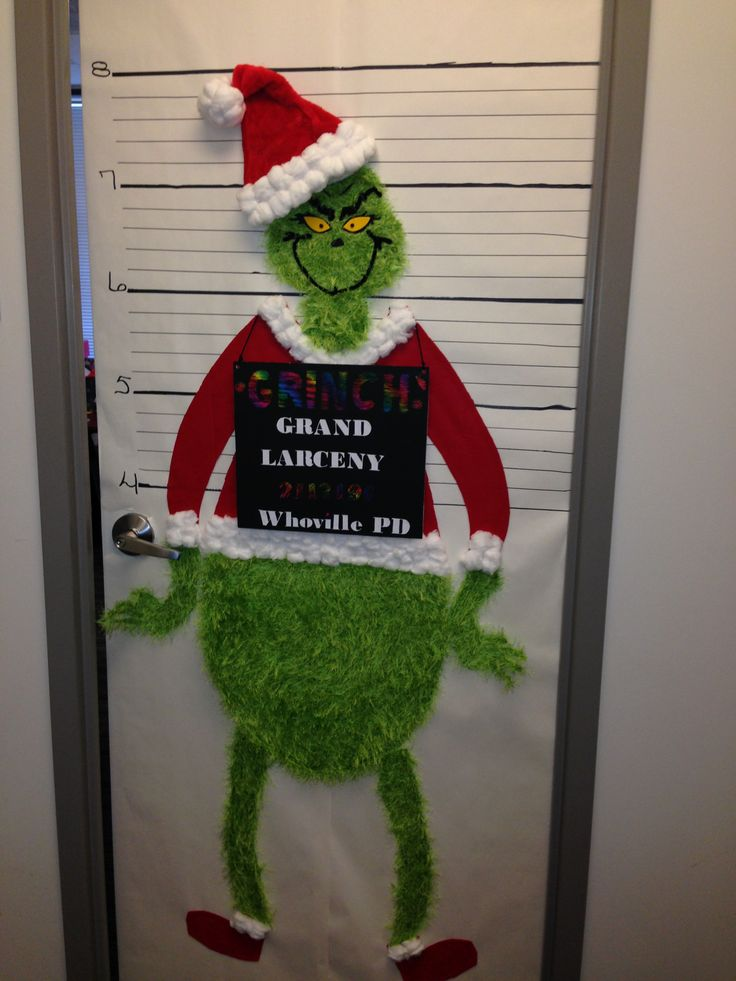 30 mock your colleagues this christmas - How To Decorate Your Door For Christmas