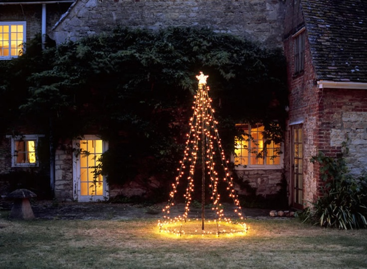 40 Outdoor Christmas Lights Decorating Ideas