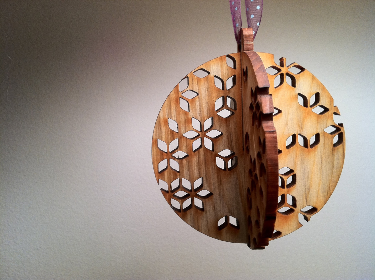 40 - Wooden Christmas Decorations