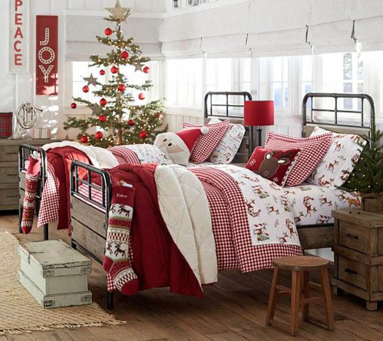 christmas-bedroom-decorating-ideas-8