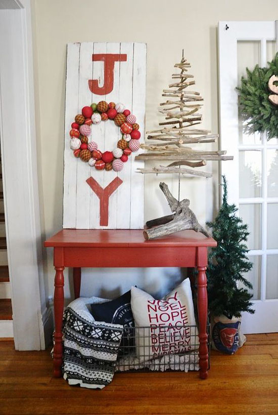 christmas decorating for small space 29