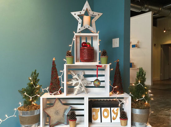 christmas decorating for small space 35