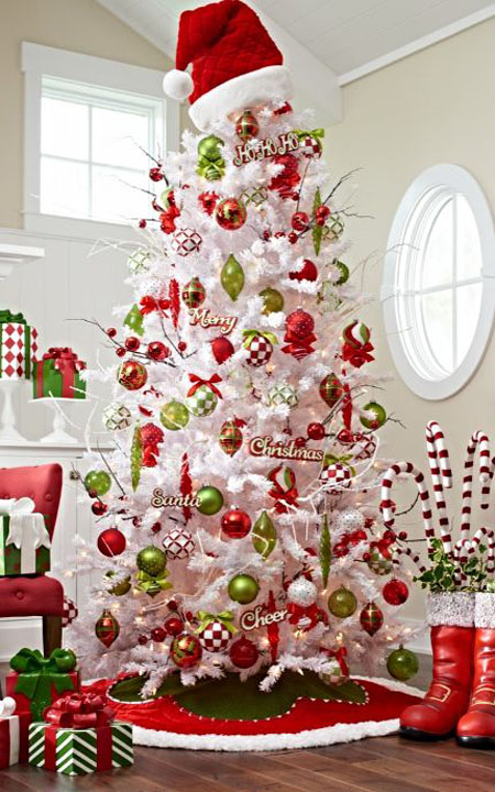 christmas tree theme ideas 11