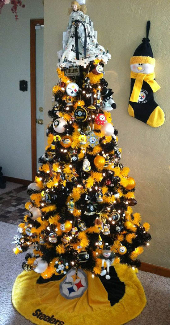Steeler Christmas Tree