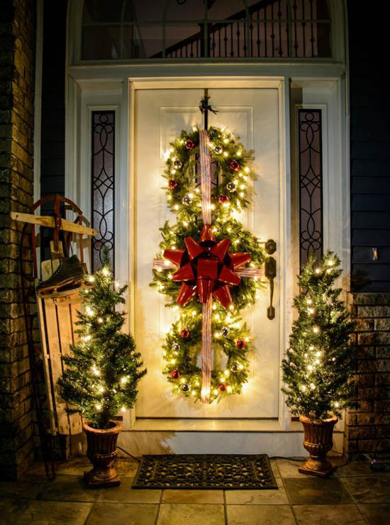 Most Beautiful Christmas Wreaths - All About Christmas