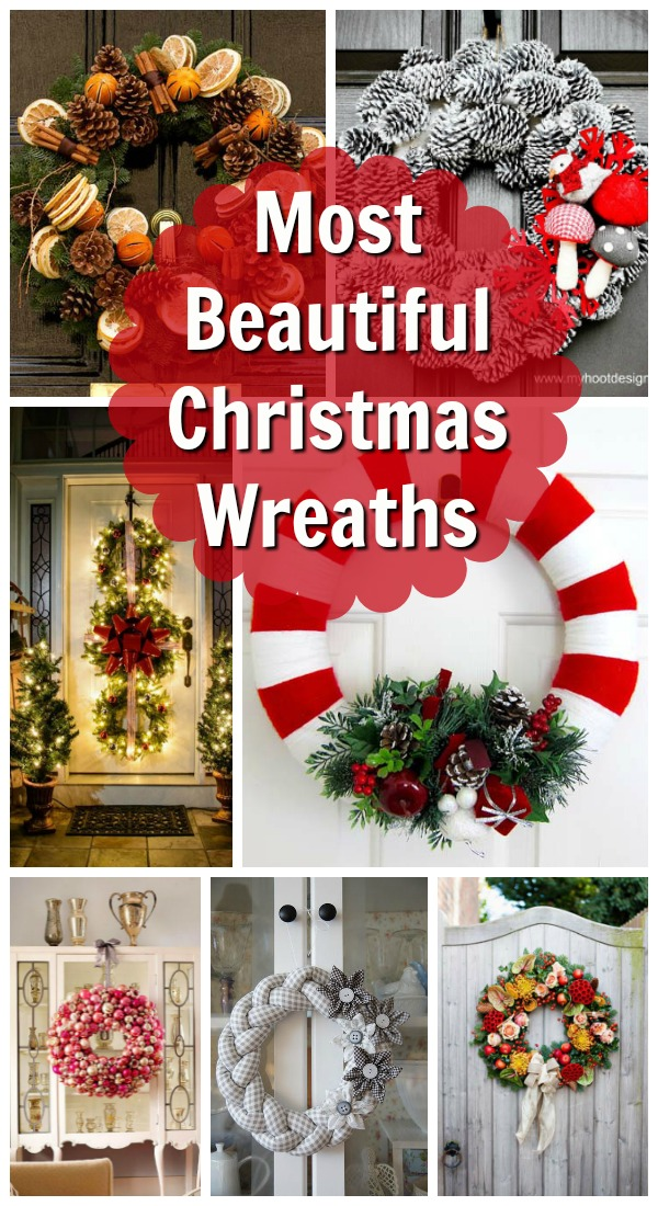 Most Beautiful Christmas Wreaths