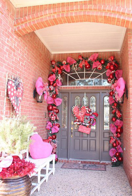 Pink Christmas Decorations 14