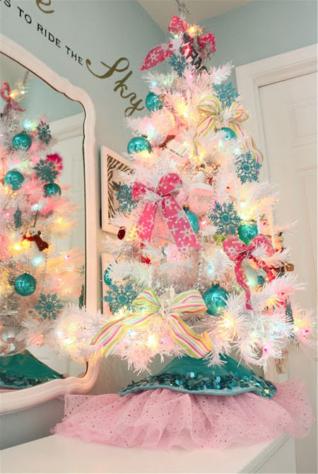 Pink christmas decorating ideas all about