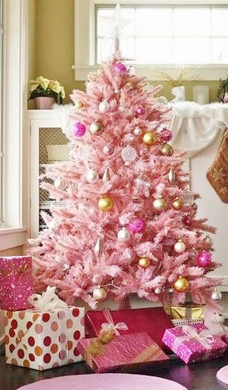 Pink Christmas Decorations 31