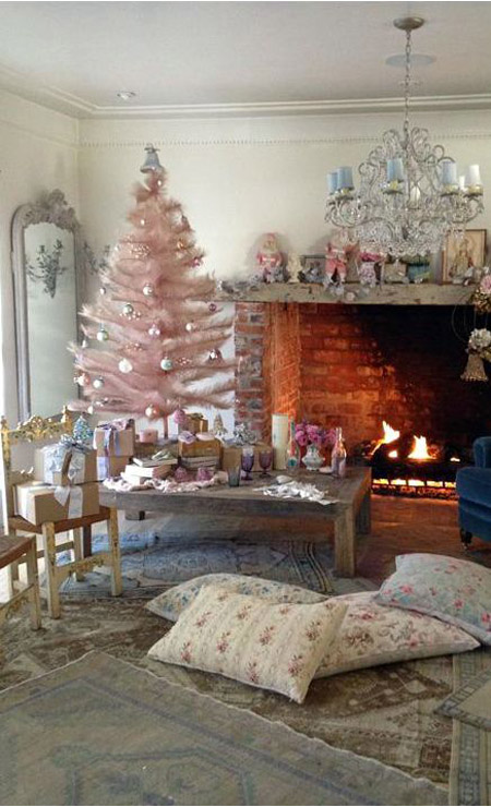 pink-christmas-decorations-37