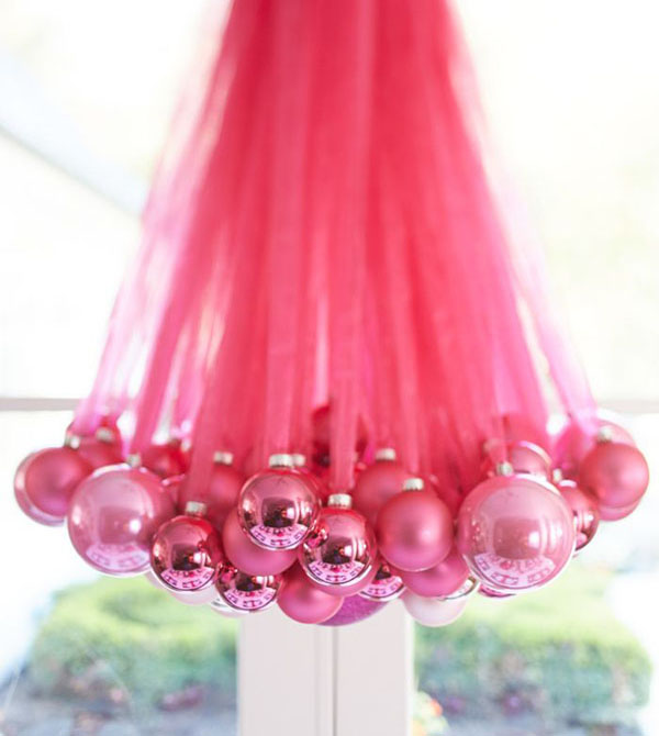 pink christmas decorations 5