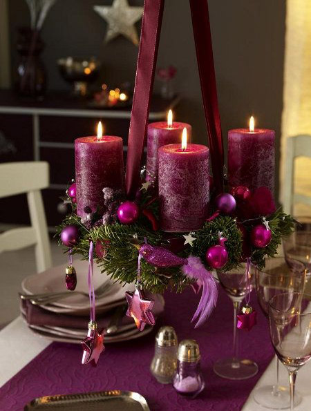 purple christmas decorations 1 - Purple Christmas Decorations Ideas