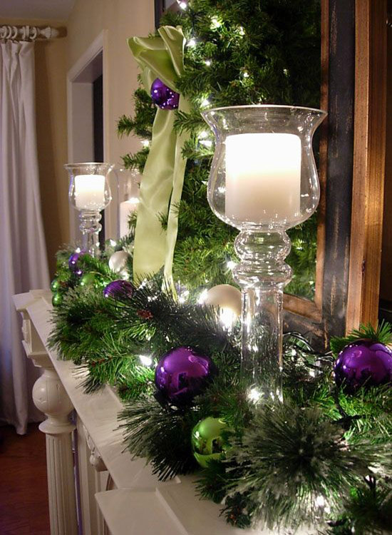 purple christmas decorations 2 - Purple Christmas Decorations Ideas