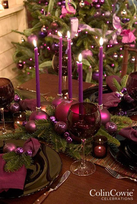 purple christmas decorations 9 - Purple Christmas Decorations Ideas