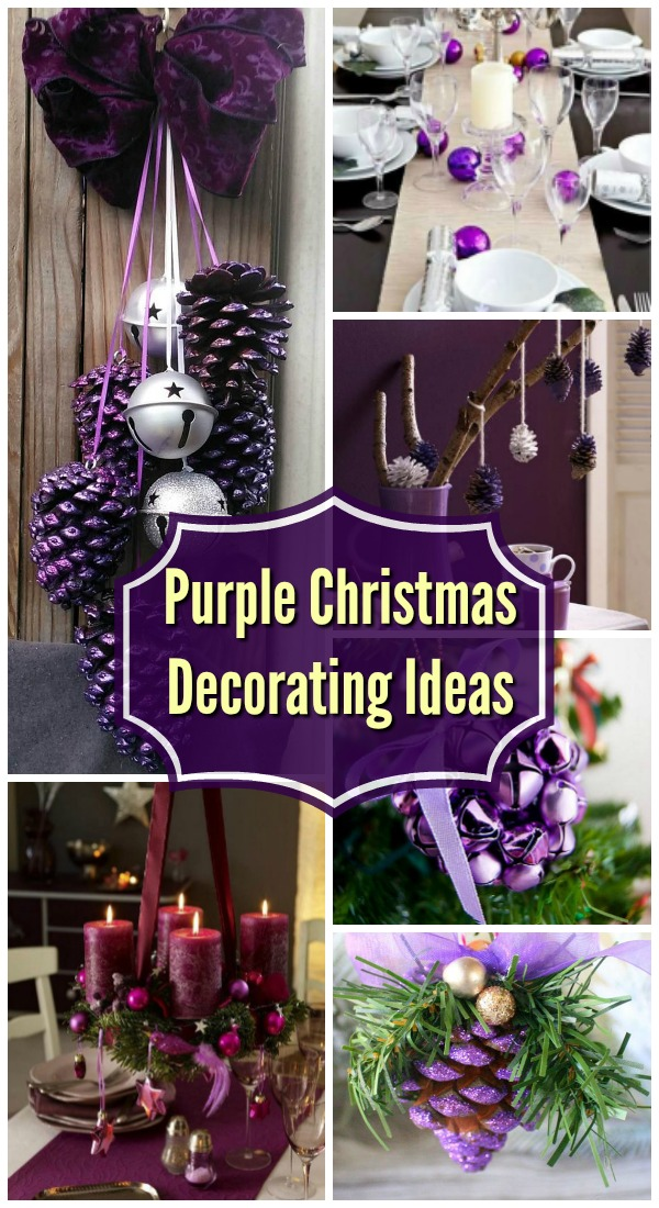 purple-christmas-decorations