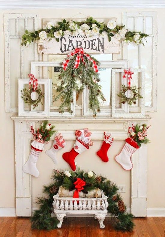 40  red and white christmas decorating ideas  u2013 all about christmas