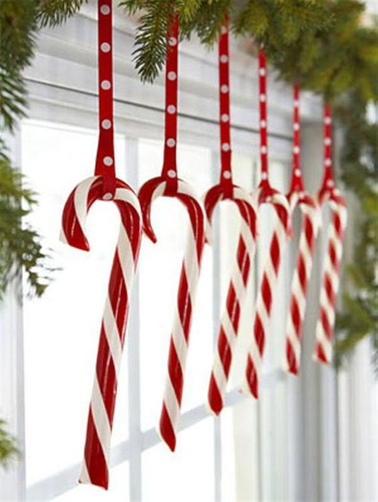 Red White Christmas Decorations 8