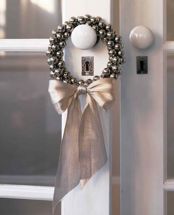 Silver Christmas Decorating Ideas All About Christmas Inspiration Silver Bells Decorations