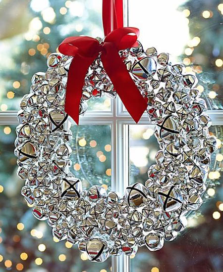 Silver Christmas Decorating Ideas All About Christmas Beauteous Silver Bells Decorations