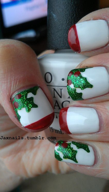 simple-christmas-nail-designs-24