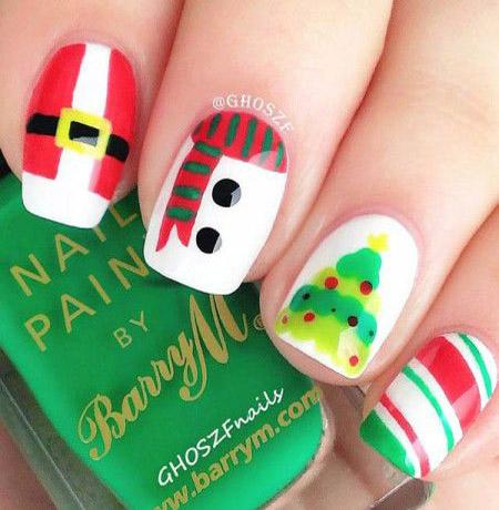 simple-christmas-nail-designs-27