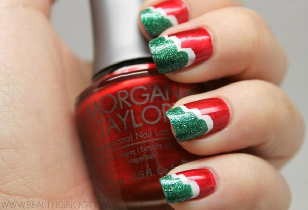 Simple Christmas Nail Art Designs \u2013 All About Christmas