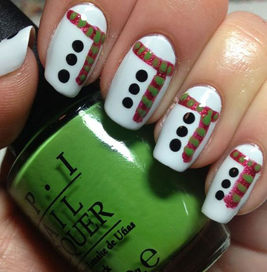 simple-christmas-nail-designs-9