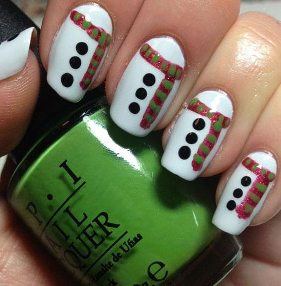 simple-christmas-nail-designs-9
