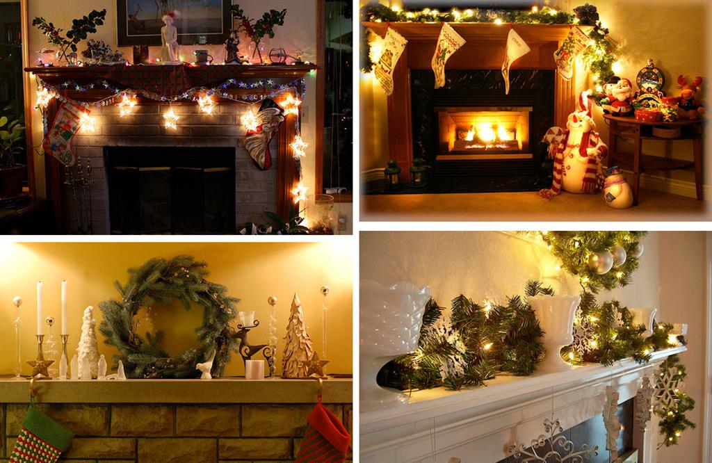 40 indoor christmas light decoration ideas all about for Pictures of indoor christmas decorations
