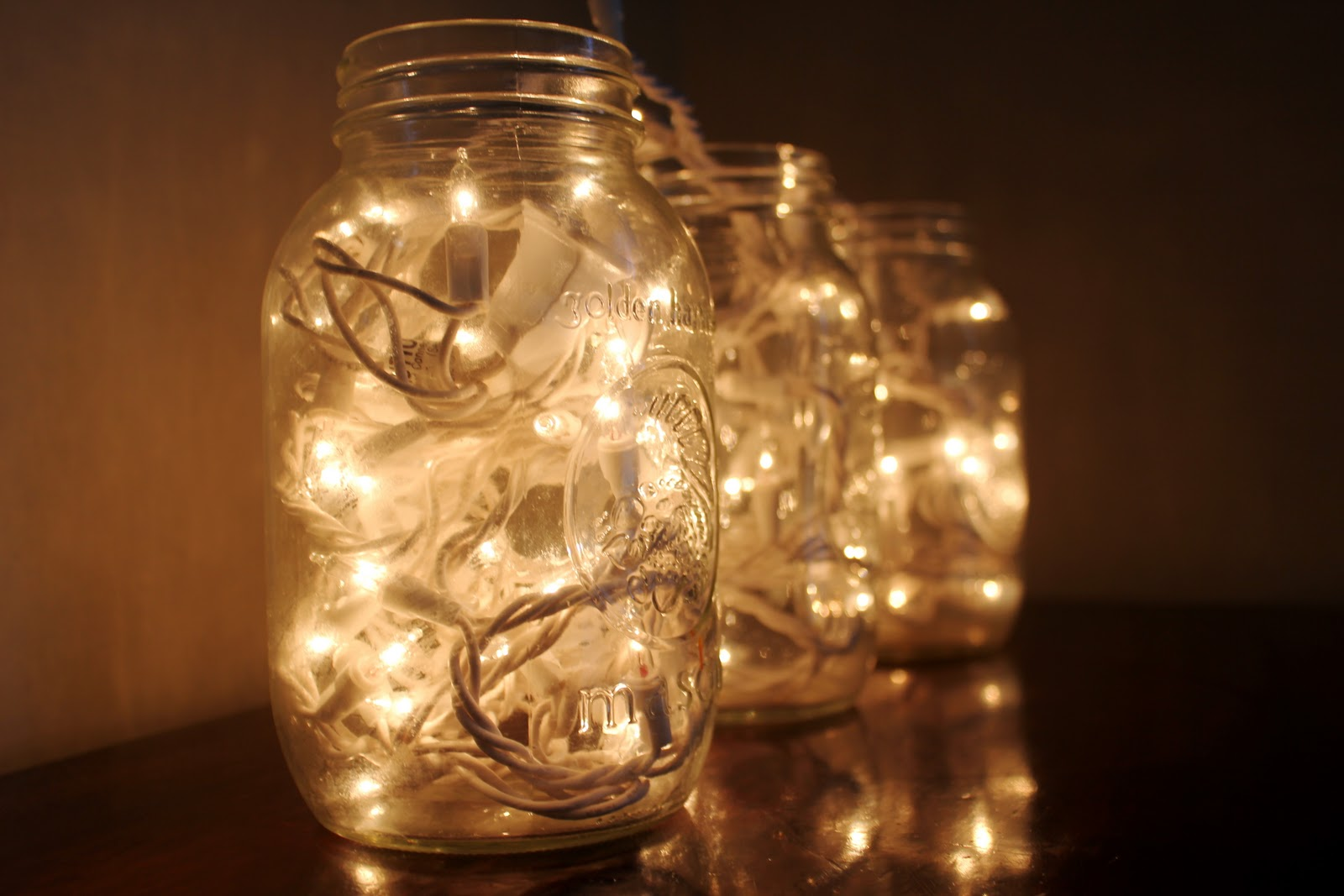 Lighting in a jar Christmas Christmas Snydle 40 Christmas Light Decorations In Jar All About Christmas