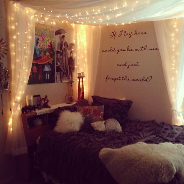 Cool Christmas Light Ideas For Bedrooms Part - 23: Christmas Snydle.