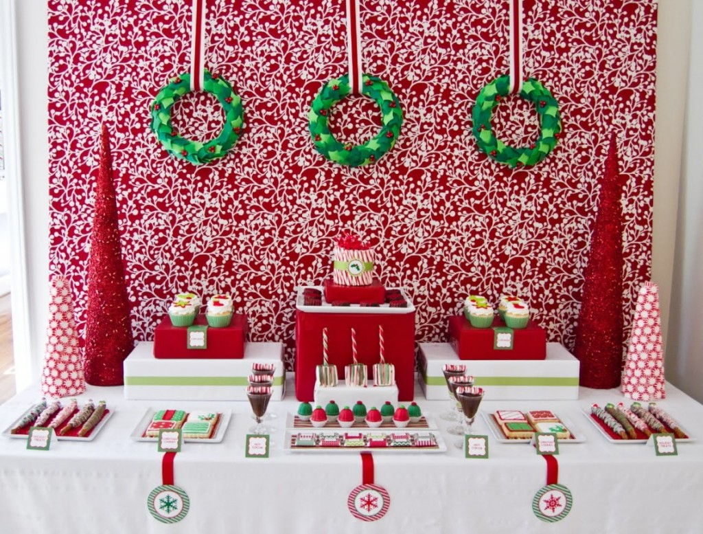Christmas Picture Backdrop Ideas 40 Christmas Dinner Table Decoration Ideas All About Christmas